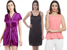 Min 70% Off - Women Clothing From Just Rs.199 + FKM CB