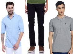DOD : Jeans, Tshirts & Shirts Starts At Just Rs.264 !!