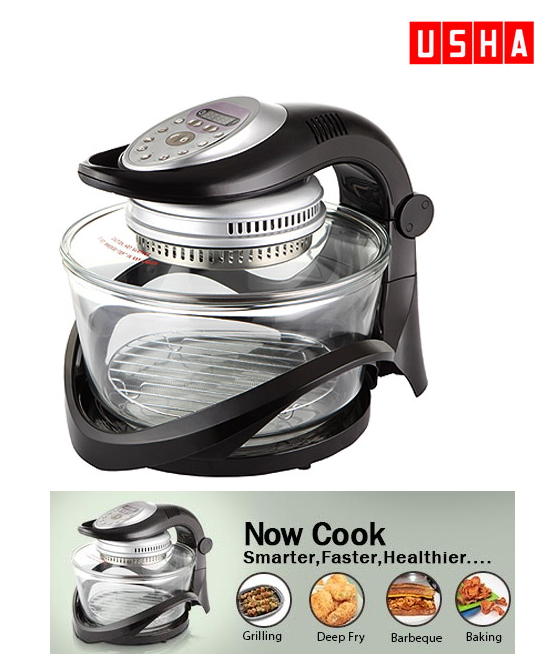 USHA Halogen Oven 3212 for Rs. 4999 at snapdeal / Rs. 4,799 at ...