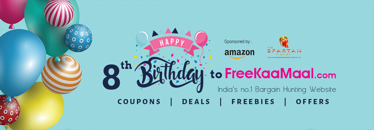 FreekaaMaal Birthday Celebration - Play and Win Amazing Prizes