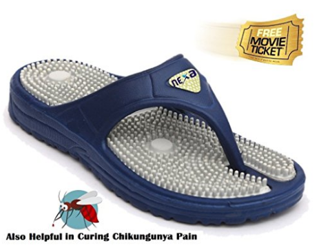 Grab a FREE Movie Ticket with Nexa Acupressure Slippers at Just Rs 99 discount offer  image 1