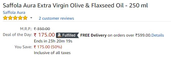 Flaxseed Oil discount offer  image 1