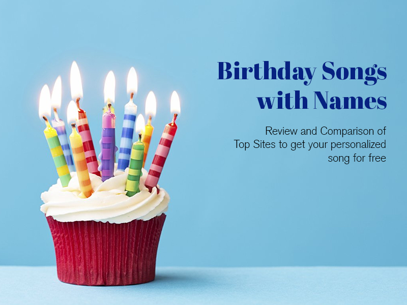 Top sites to get birthday songs