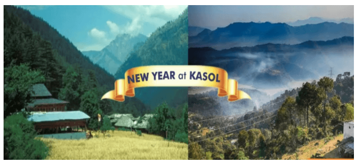 New year at kasol