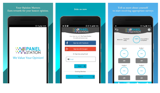 Panel Station Mobile App