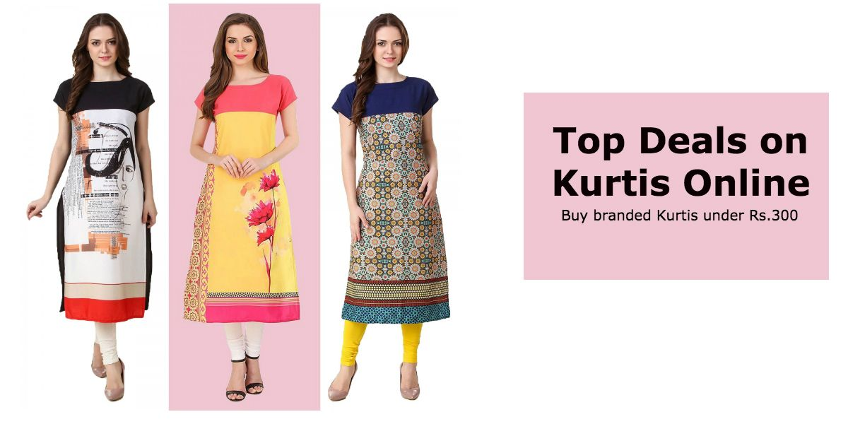 6cb5a526fe Looking to buy women's kurtis online? Get them for as low as Rs 100. Here  we present some really affordable kurtis. They are not only value for money  but ...