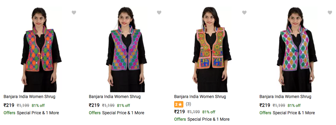 kurtis under 199 at flipkart