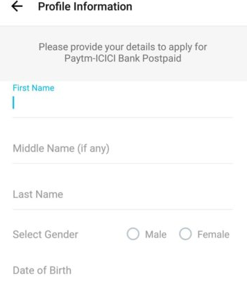 Paytm Postpaid - Get Up to Rs  10,000 Instant Credit In your Paytm