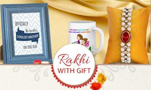 Amazon Rakhi with Gifts