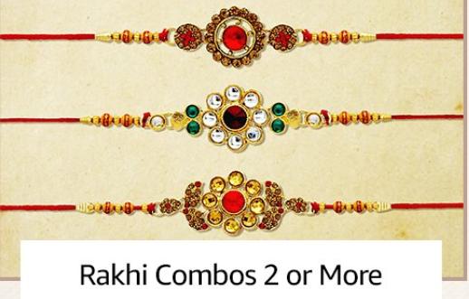 Amazon Rakhi Combos