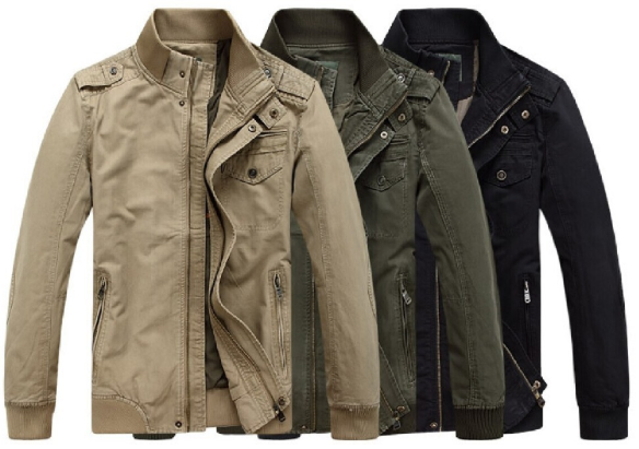 different types of winter jackets for men