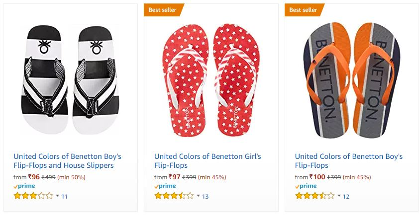 77fe9541f563 Best Offer  Upto 80% off on UCB Flipflops starts at Rs.96 at ...