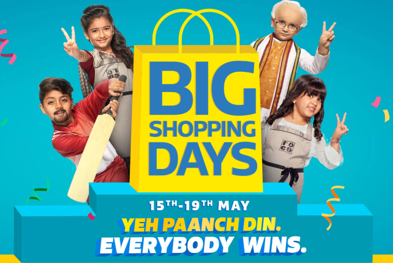78ed4cc63 Flipkart Big Shopping days sale is live for all users with mega offers  across all categories. Get up to 80% off on fashion