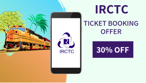 IRCTC Ticket Booking Offers