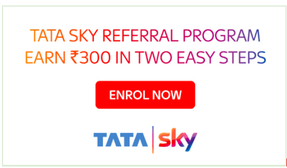 Tata Sky refer and earn offer
