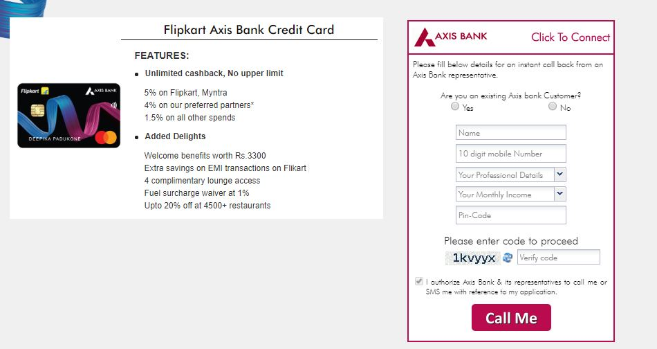 Just Launched: Flipkart Axis Bank Credit Card Unlimited