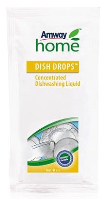 DISH DROPS Concentrated Dishwashing Liquid Sachet