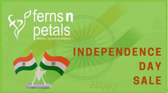 Ferns N Petals Independence Day Offers