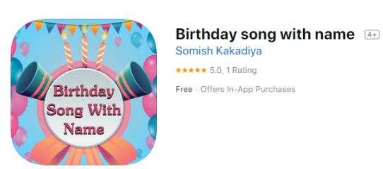 Birthday Songs with Name - Top Sites to Download Audio
