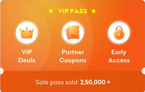 GRofer VIP Pass