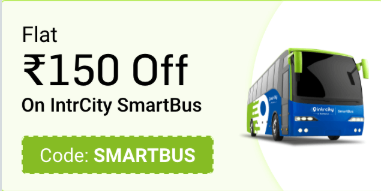 Railyatri Intrcity Bus Offer
