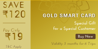 Railyatri Gold Smart Card