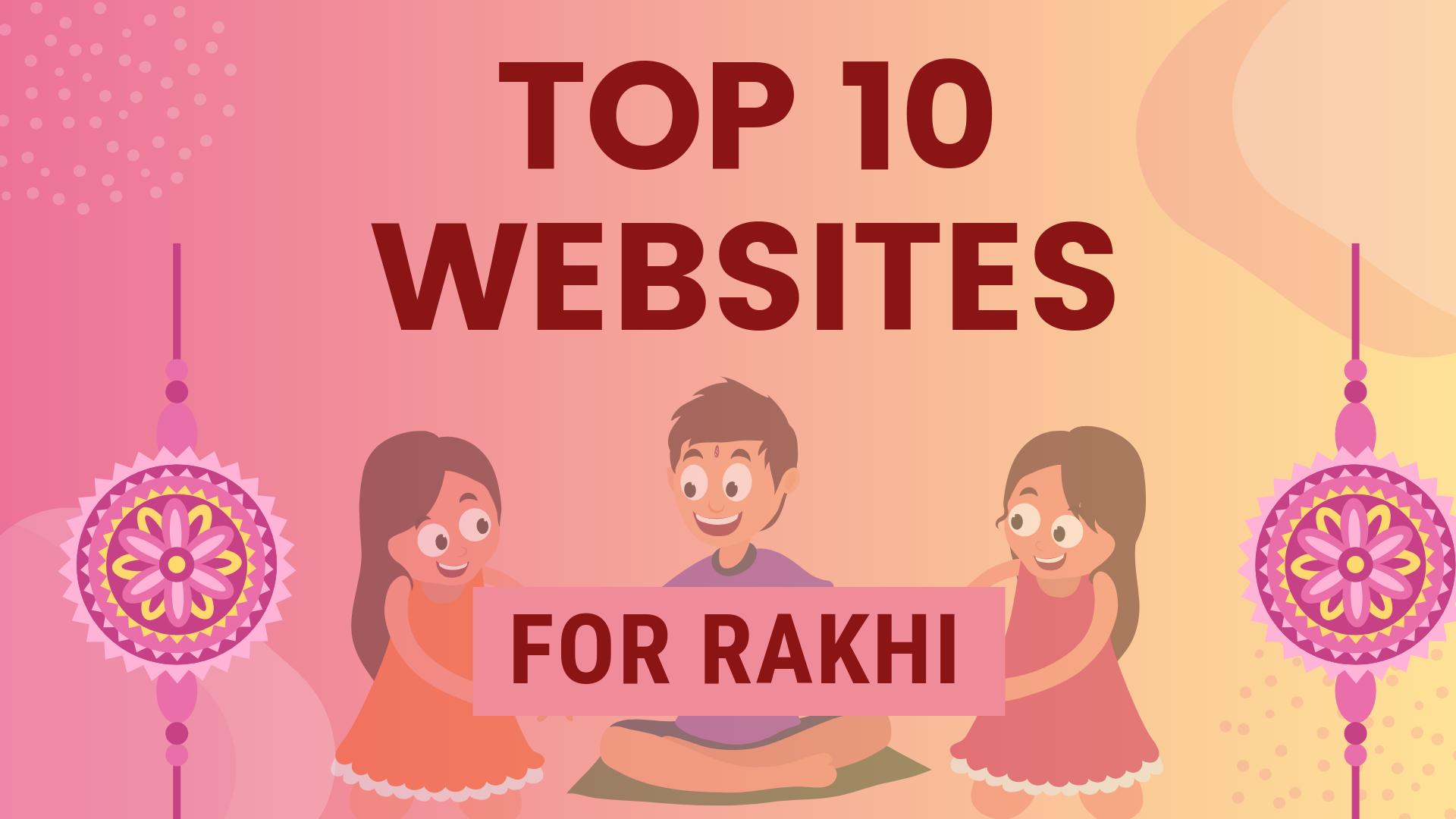 top websites for rakhi shopping