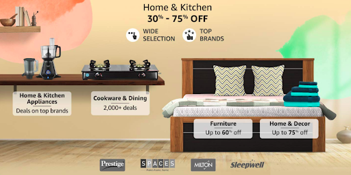 Amazon Offers on Home and Kitchen Products