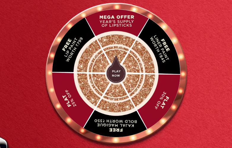 nykaa-spin-the-wheel