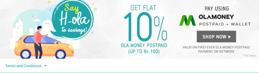 netmeds-ola-money-offer