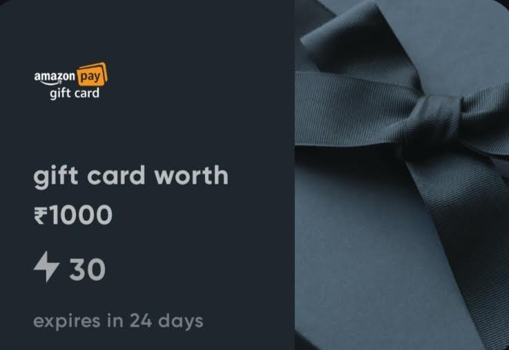 Cred Referral Offer - Get Amazon Gift card Worth Rs  1,000