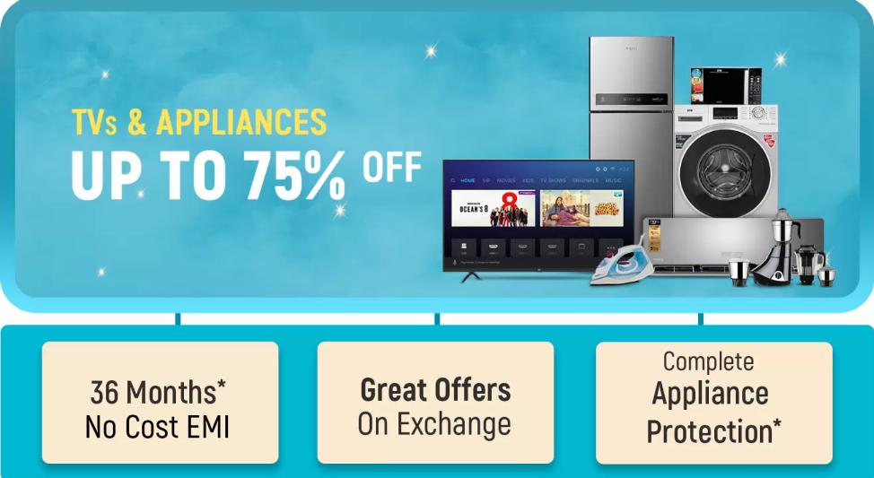 flipkart-sale-on-tv