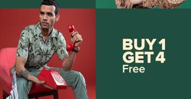 myntra-buy-1-get-4-offer