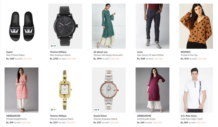 myntra-half-price-store