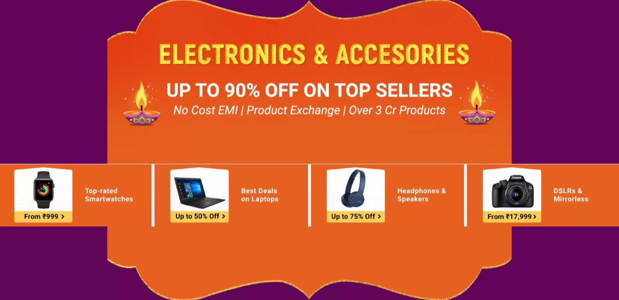 flipkart-offer-on-electronics