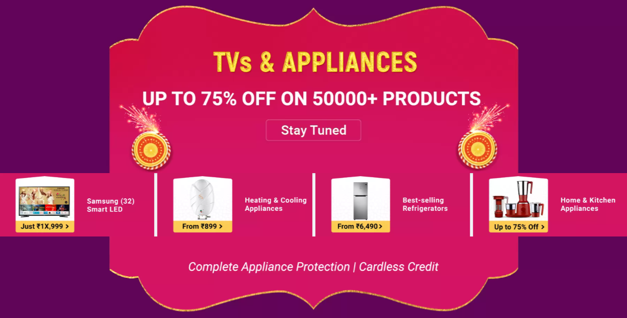 flipkart-offers-and-tv-and-appliances