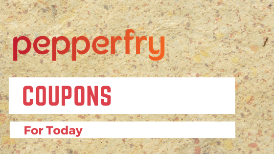 Pepperfry Coupons for today