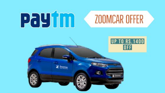 paytm-zoomcar-offer