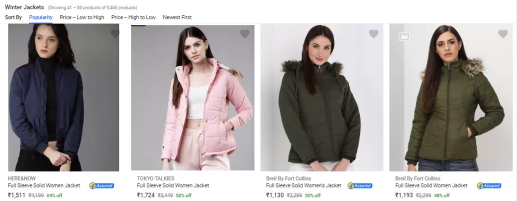 flipkart-winter-sale-for-women
