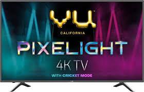Vu Pixelight 138cm (55 inch) Ultra HD (4K) LED Smart TV