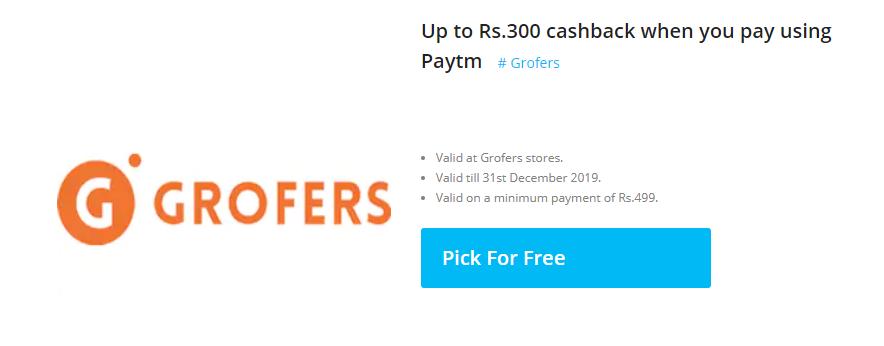 paytm-grofers-offer