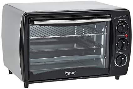 PCR 1380-Watt Oven Toaster Grill (Black)