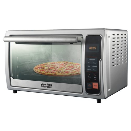 AMERICAN MICRONIC 28 L 230V AC, 1500W Stainless Steel OTG