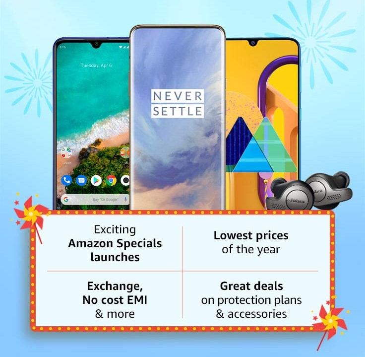 Amazon Great Indian Sale On Mobiles Get Upto 40 Off Exra 10 Off