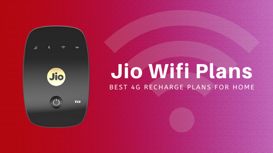 Jio Wifi Plans For Home