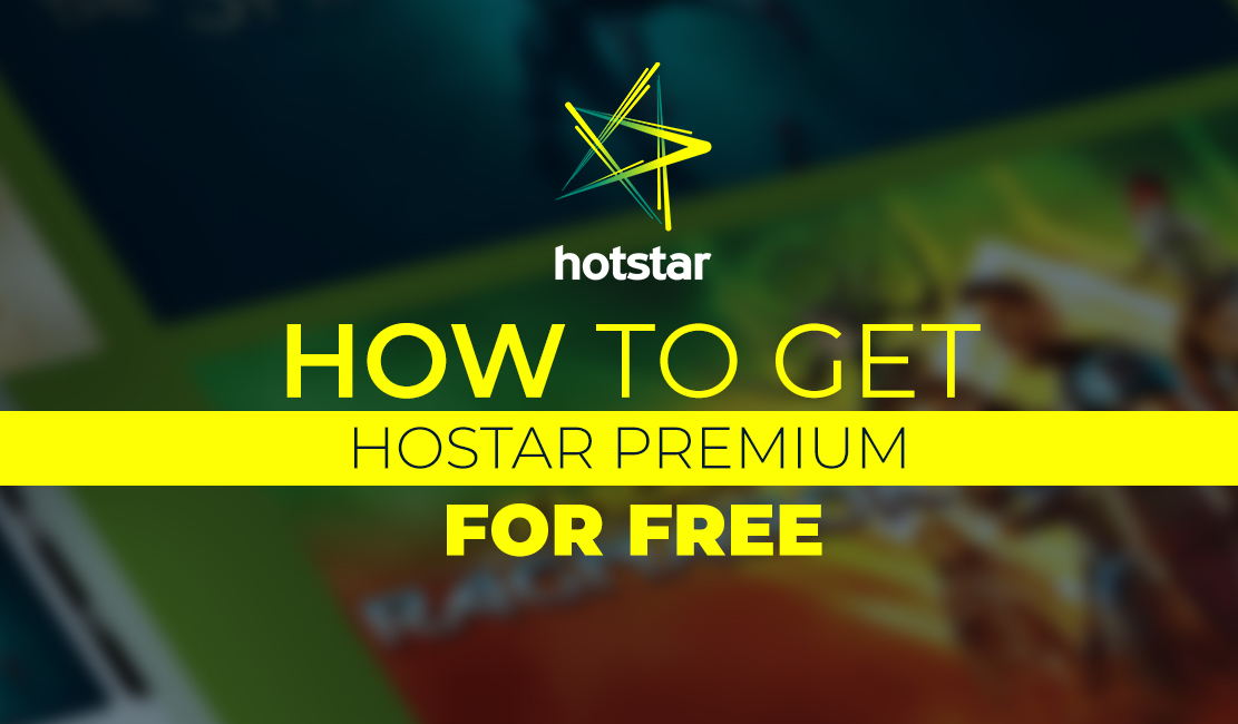 how to get hotstar premium for free