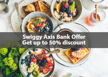 Swiggy Axis bank offer