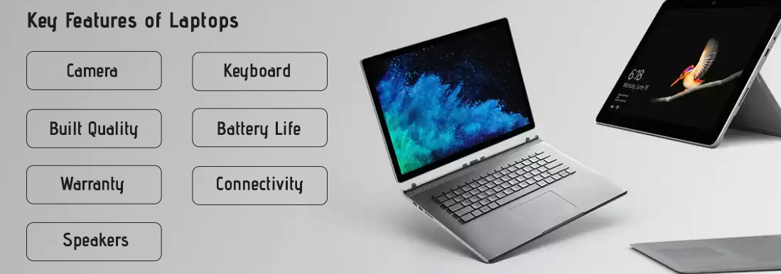 Key Features of Laptop