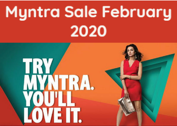 Myntra Sale February 2020: Up to 80% Off + Bank Offers