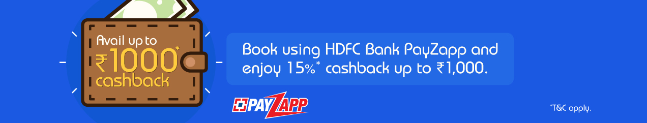 Indigo HDFC Offer: Get 15% Cashback Up to Rs. 1,000